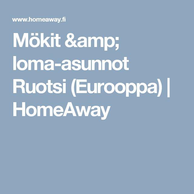 Mökit & loma-asunnot Ruotsi (Eurooppa) | HomeAway