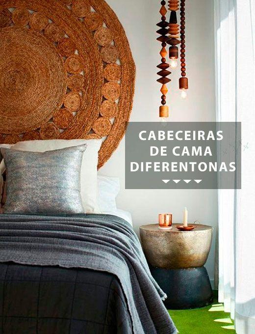 os Achados | Décor | Cabeceiras de cama diferentonas