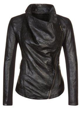 STELLA - Leather jacket - black