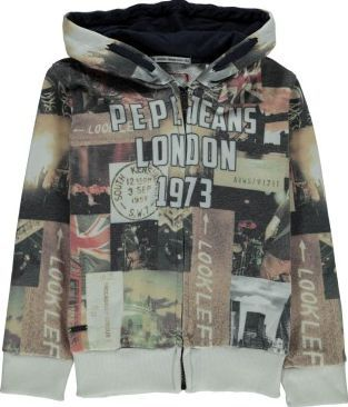Pepe Jeans Finar Hooded Sweatshirt Grey `4 years,6 years,8 Fabrics : Quilted cotton jersey Details : Straight cut, Long sleeves, Zip, Hood, Ribbing Composition : 50% Cotton, 50% Polyester http://www.comparestoreprices.co.uk/january-2017-7/pepe-jeans-finar-hooded-sweatshirt-grey-4-years-6-years-8.asp