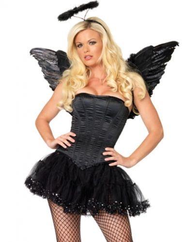 Sexy Dark Angel Halloween Costumes