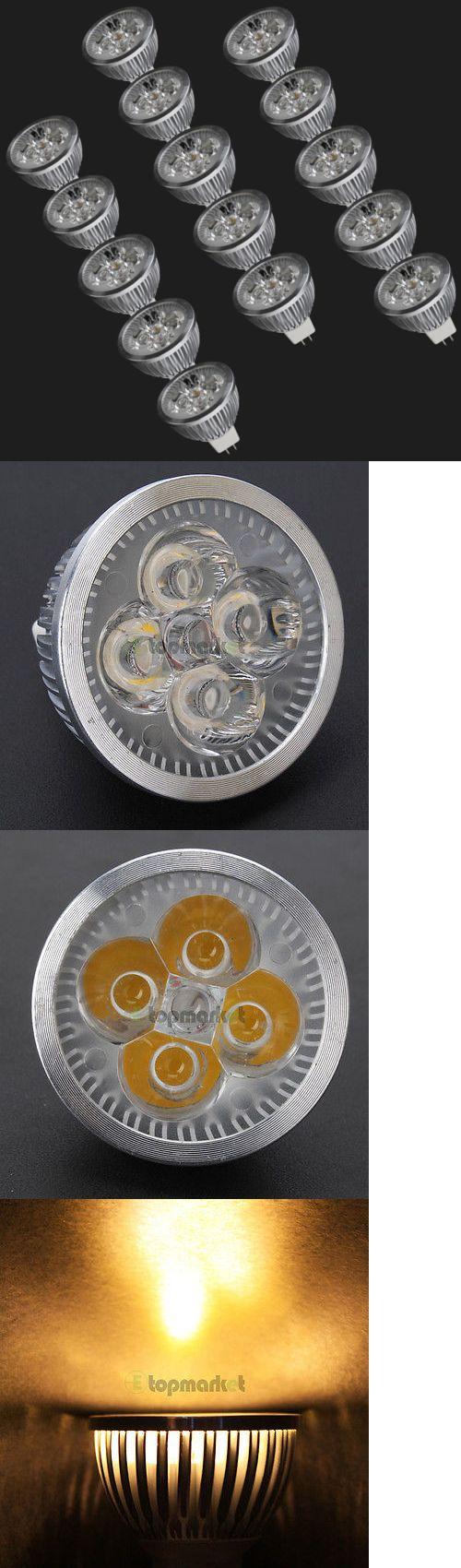 Light Bulbs 20706: 15X Bulb Mr16 4W 12V 3000K New Led Spot Light Down Lamp Energy Saving Warm White -> BUY IT NOW ONLY: $33.29 on eBay!