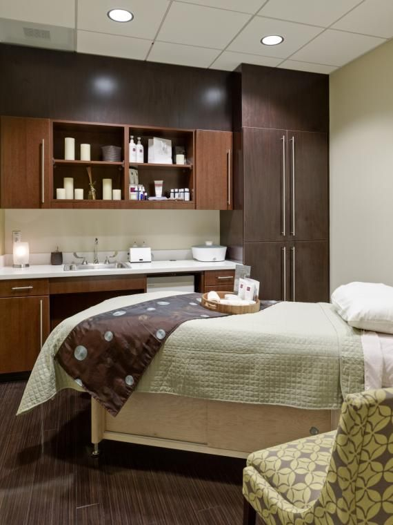The Spa At Capital Health Medical Center Hopewell Serves Both Patients And Public Clinic DesignHealthcare