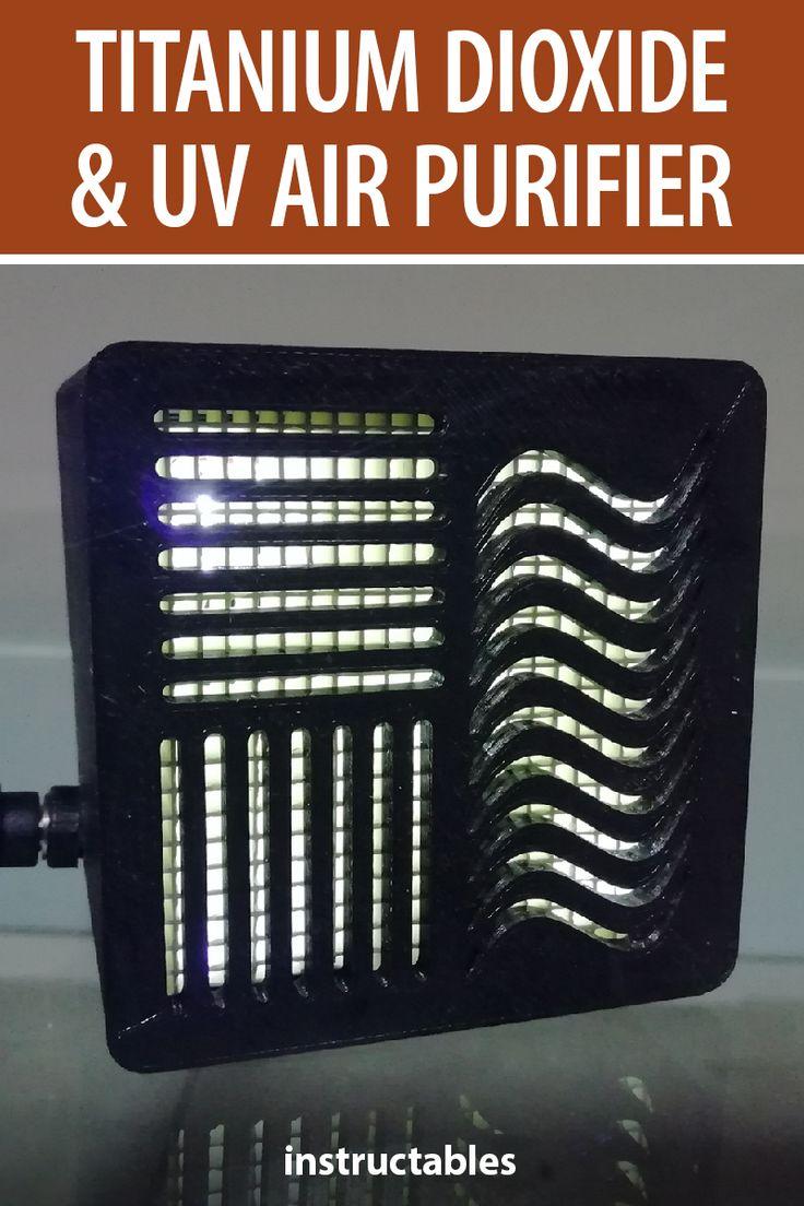 Titanium Dioxide and UV Air Purifier Air purifier