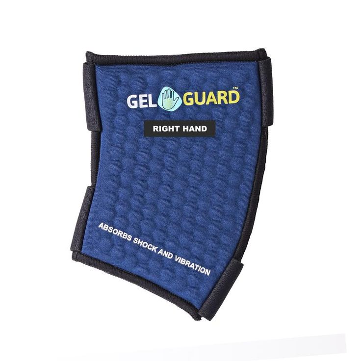 TommyCo 11002 Gel Guard Universal Anti-Vibration Right Hand Glove Insert, Blue