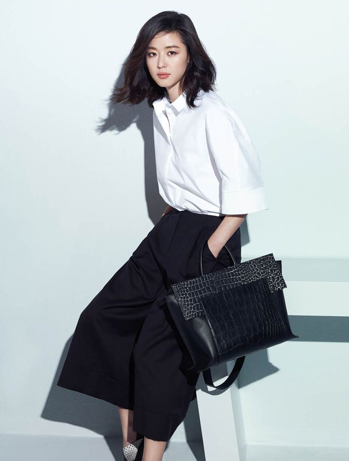 Jeon Ji Hyun Looks Even Younger In Latest Rouge&Lounge Pictorial For Elle Korea (UPDATED) | Couch Kimchi