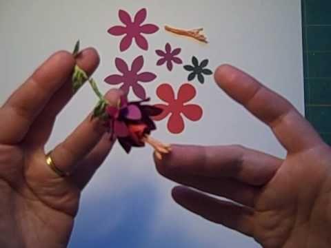 Follow the Paper Trail-Paper Fuchsia Tutorial