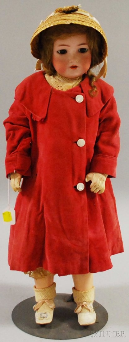 Simon Halbig K*R Bisque Head Doll, Germany, marked