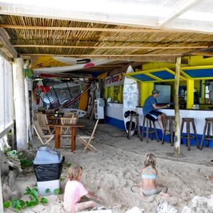 The beach hut bonaire bar and restaurant offers a great place to relax and enjoy a lunch and an - The dive hut bonaire ...