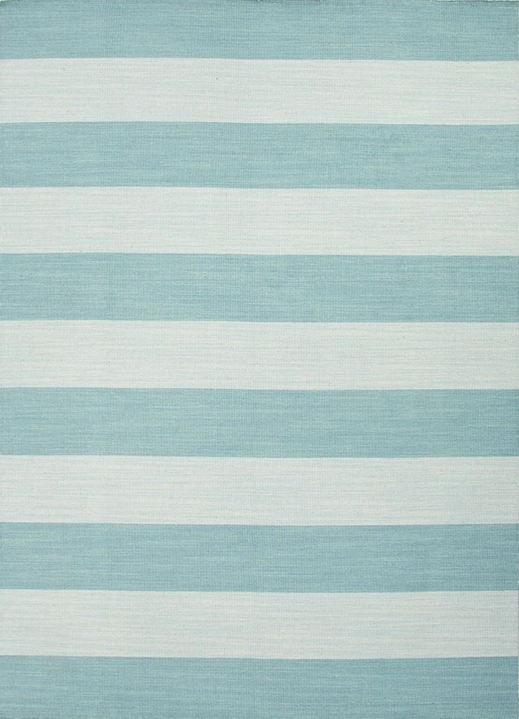 Aegean Sea Striped Dhurrie Area Rug