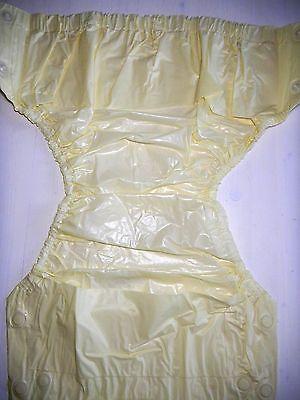 Roewer rubberen broek, luier broek voor knoppen, afdeling als septa, Gr.52/56 materiaal en
