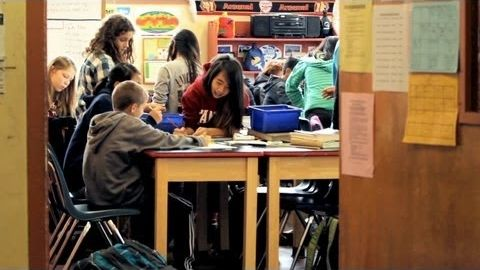 Watch a determined middle school teacher transform his crowded classroom space to enable deeper learning and effective teamwork -- with help from his students, community volunteers, and a few experts.