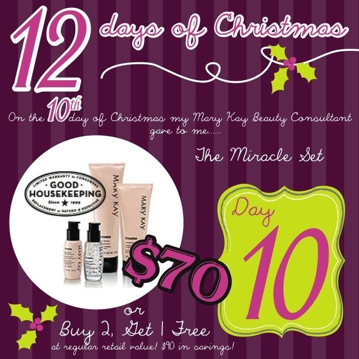 Mary Kay 12 Days of ChristmasTo order colors or any other Mary Kay products or to have a complementary makeover-try-before you buy contact me marykaycosmetics.taveras@gmail.com or 646 407 1444