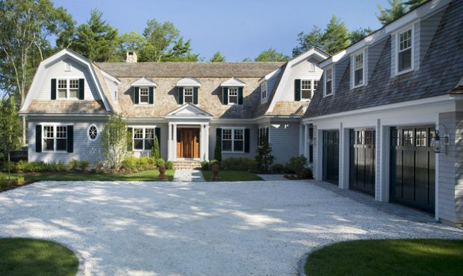 Roots Style Dutch Colonial Homes Settle Gambrel Roof - House Plans | #77014