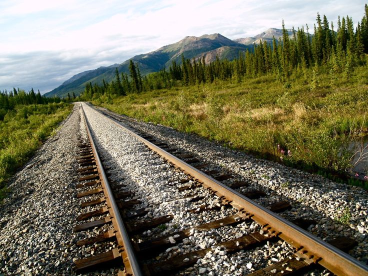Railway to the wilderness, Alaska. Our photographs are FREE and you can use them for web sites, mobile apps, image Placeholders, all private or commercial works etc. If you have any questions, write to info@freephotodb.com.