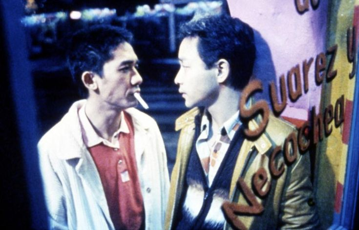 Tony LEUNG Chiu Wai, Leslie Cheung, 1997 | Essential Gay Themed Films To Watch, Happy Together (Chun gwong cha sit) http://gay-themed-films.com/watch-happy-together/