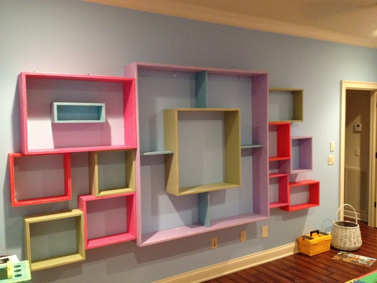Super Cool Shelving For Kids Room. This One Is Used To Store Hundreds Of  Stuffed