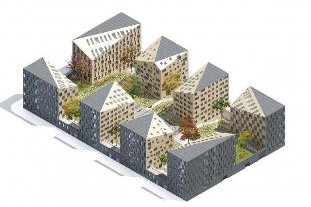 Не по-нашему: что такое европейская архитектура? - ЖИЛОЙ КВАРТАЛ «9/18» МЫТИЩИ