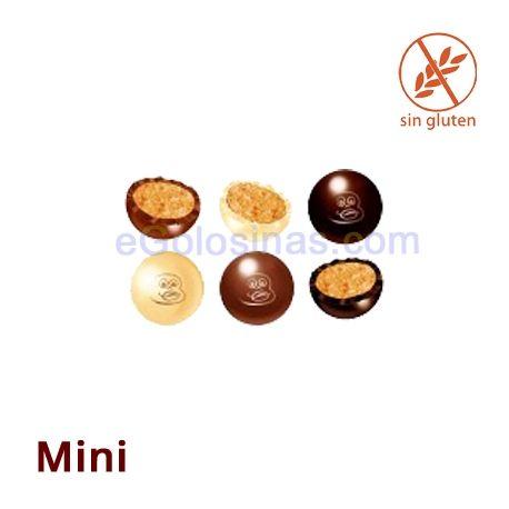 MINI CHOCOBOLAS MIX 1Kg LACASA  Los ingredientes son Chocolate (azúcar, pasta de cacao, manteca de cacao, lactosa, emulgente (lecitina de soja) y aroma. Cacao 43% mínimo), chocolate con leche (azúcar, manteca de cacao, leche entera en polvo, pasta de cacao, lactosa, emulgente (lecitina de soja) y aromas. Cacao 32% mínimo), chocolate blanco (azúcar, manteca de cacao, leche entera en polvo, lactosa, leche desnatada en polvo, emulgente (lecitina desoja) y aromas), cereales(14%)(harina de arroz…