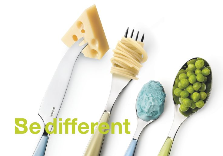 Be different! Food experience by Studio Buschi.