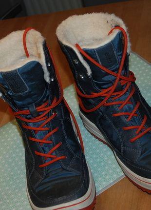 Kaufe meinen Artikel bei #Kleiderkreisel http://www.kleiderkreisel.de/damenschuhe/schnurstiefel/116156234-blaue-winterstiefel-v-ecco-gr-40bloggerboots