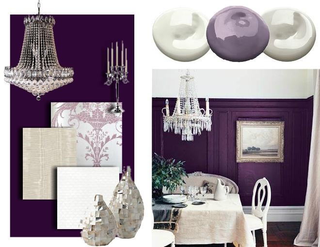 36 best dining room images on pinterest | home, purple dining