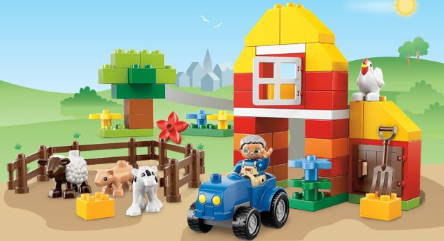 6141 My First Farm  #LegoDuploParty----  please help me with a lego party gift..I need 15 repins