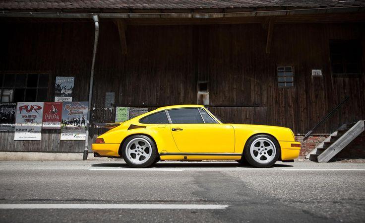 1987 Porsche 911 RUF CTR Blackbird. (Click on photo for high-res. image.) Photo found here: http://www.caranddriver.com/photo-gallery/1987-ruf-ctr-yellowbird-911-turbo-driven-video