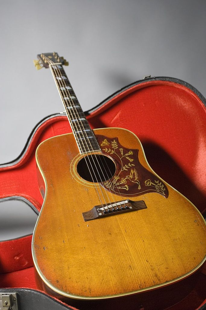 1968 gibson hummingbird - 1 of 2