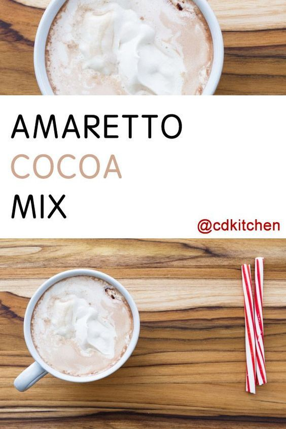 Made with dry milk, confectioners' sugar, Amaretto flavored non-dairy powdered creamer, chocolate milk mix, powdered creamer, salt | CDKitchen.com
