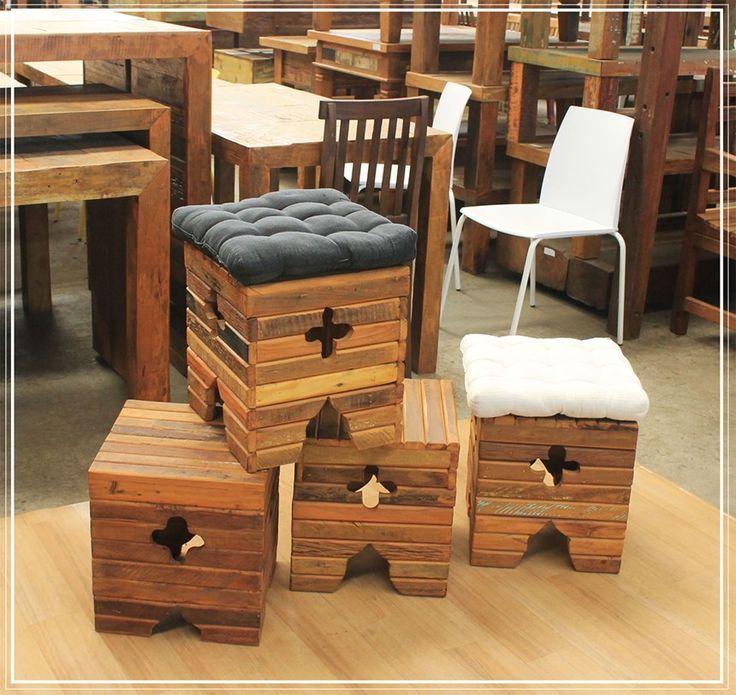 Outlet de Móveis Rústicos e Produtos de Madeira de Demolição | Outlet de Móveis Rústicos