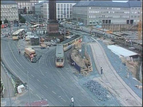 Darmstadt früher | Bau von CityTunnel & Luisencenter (1977)