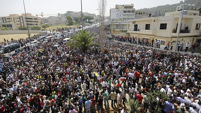 Syrian Refugees in Lebanon Vote in Presidential Elections. Massive Support for Assad  Why are US-backed politicians in Lebanon angry when Syrians want to vote freely?  By Mahdi Darius Nazemroaya Global Research, June 03, 2014