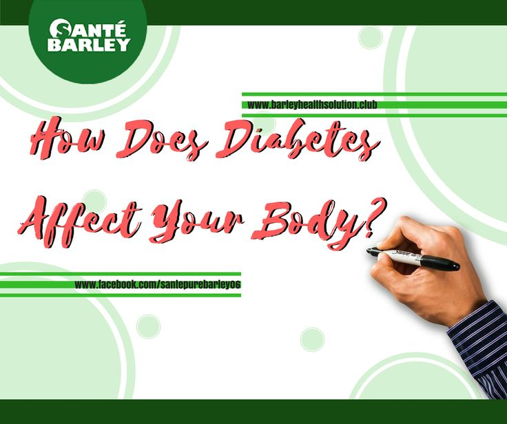 How Does Diabetes Affect Your Body? | SANTE INTERNATIONAL