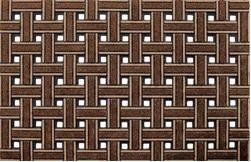 """Clean Scrape Deluxe Welcome Door Mat: Weave Browns by Clean Scrape Deluxe. $23.97. Multi-Color ChromaGrit Adds Rich Styling and creative details while cleaning shoes.. Size:  18"""" x 30"""". Durable Recycled Rubbert Base. Pet Hair easily removed by hasing off or periodic vacuuming. Anti-Slip Scraping Surface. The CleanScrape Deluxe welcome/doormats are truly a must have if you value keeping your floors free from outside debris and style!"""