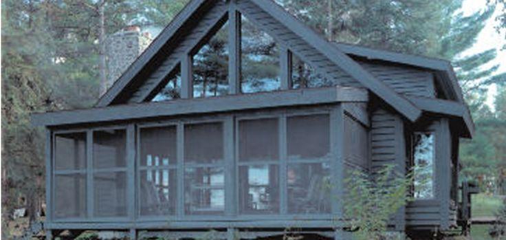 Lakeland - Log Homes, Cabins and Log Home Floor Plans - Wisconsin Log Homes