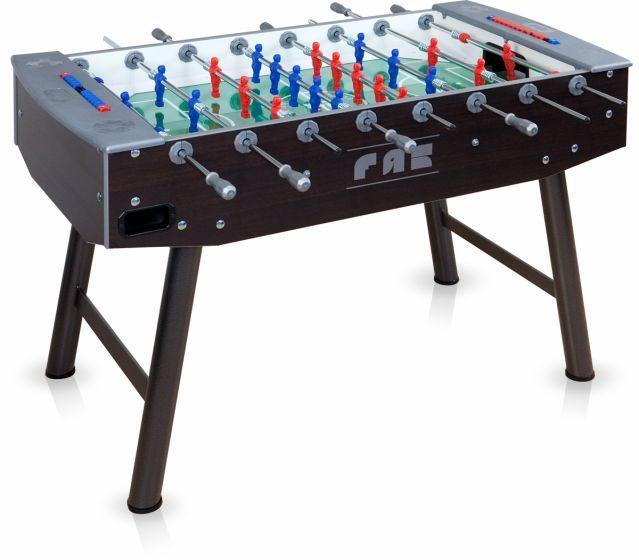"""https://www.fasshop.nl/fas-voetbaltafel-fun-met-telescoopstangen  Dit klassieke en verfijnde model is een evolutie van het model FUN en verkrijgbaar in de klassieke versie """"Wenge''. Fraai vormgegeven en voorzien van een gezandstraalde glasplaat, kortom een absolute aanrader voor de fanatieke speler.   Volg ons ook op: Websites en domeinnamen -   www.websitesendomeinnamen.nl/"""