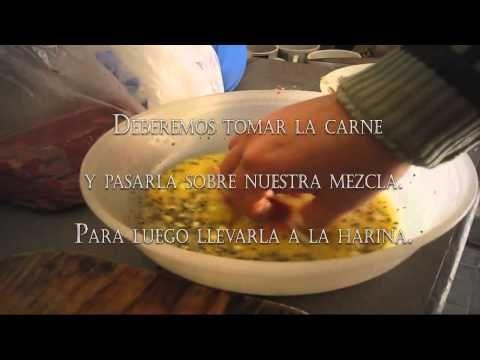 ¿Como preparar milanesas marineras? - YouTube