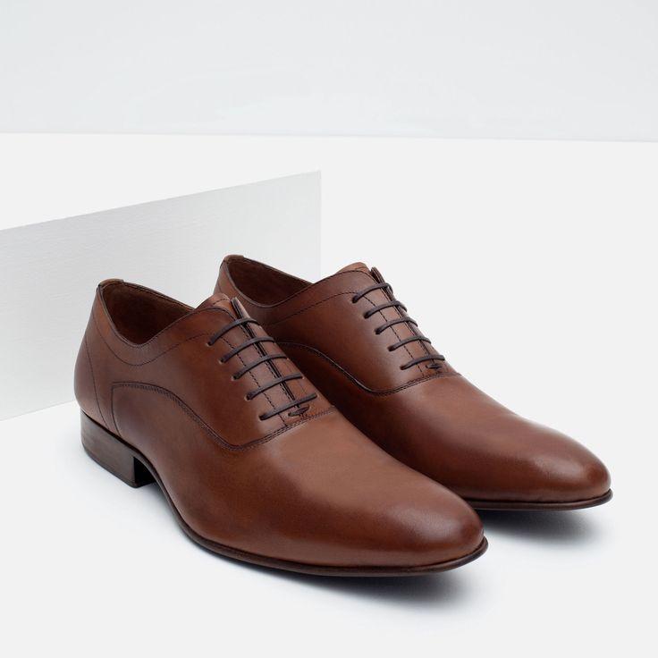ZAPATO INGLÉS PIEL - Ver todo - Zapatos - HOMBRE | ZARA México