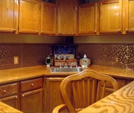 Backsplash Pictures   Kitchen Backsplash copper mosaic