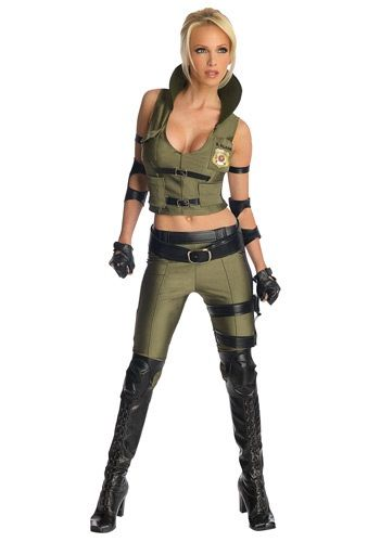 Enter into the deadly Mortal Kombat tournament with our Deluxe Sonya Blade Costume! Just watch out for Goro, because he's got four arms! And he's got an itchin' to do some dismemberin'!