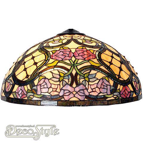 Tiffany Kap Ede (51CM)  Losse Tiffany kap. Helemaal vervaardigd met echt Tiffanyglas. Dit originele glas zorgt voor de warme uitstraling. Afmetingen: Hoogte: 26 cm Diameter: 51 cm