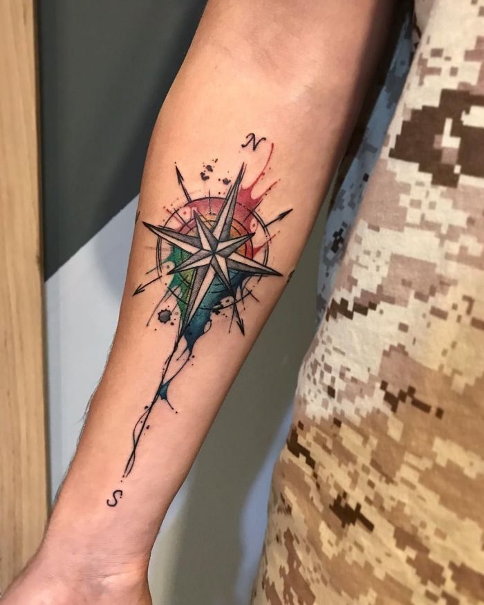101 des meilleurs dessins de tatouage compas
