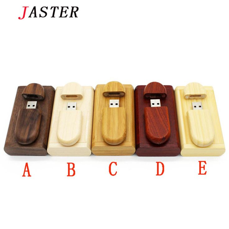 JASTER Creative Wooden usb with Box pen drive 8GB 16gb 32gb 64gb Usb Flash Drive  Memory Stick Festival photography wedding Gift //Price: $22.72      #sale