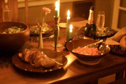 30 recetas para una cena  romantica