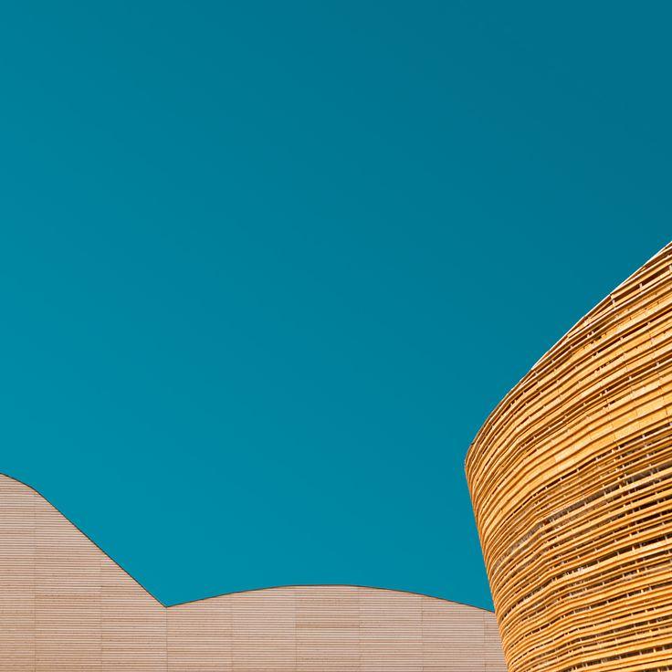 Minimalist Geometric Architecture of Milan Expo 2015