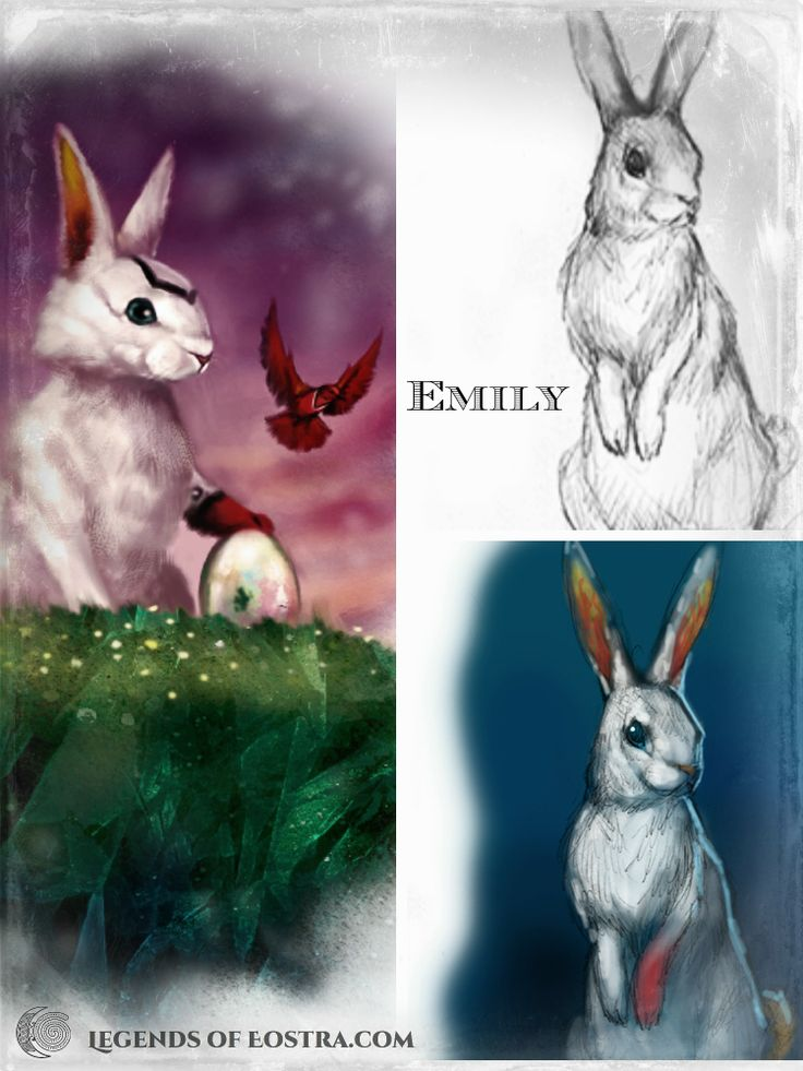 Emily, the Easter rabbit, and how her character developed.  #motherearth #fantasy #auslit #easter #vernalequinox #YABook