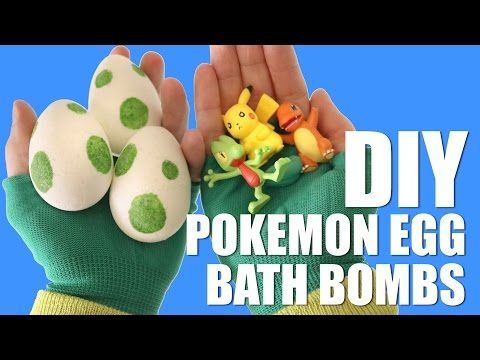 Hatch Rare Monsters At Home With Surprise-Filled Pokémon Bath Bombs – grape