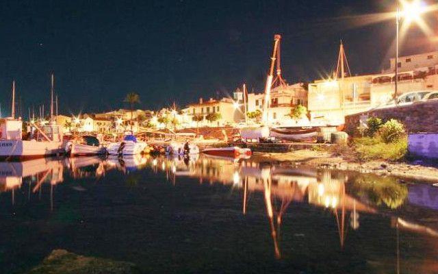 Stintino di notte - il porto