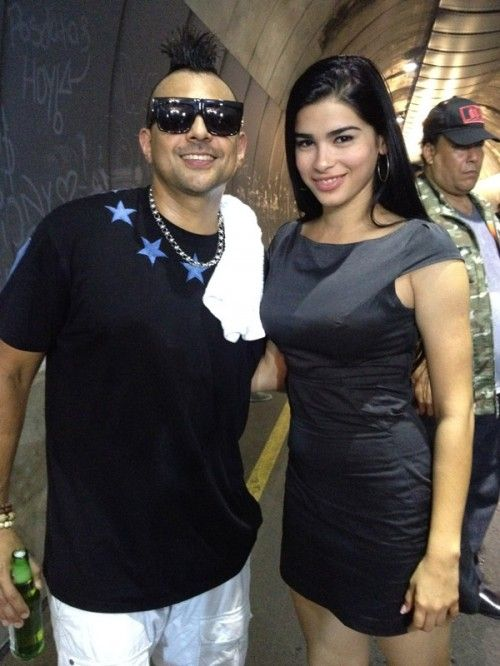 Con Sean Paul - Ana Karla Suarez Lima